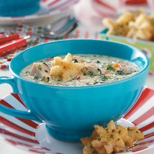 Creamy Chicken Vegetable Soup Recipe