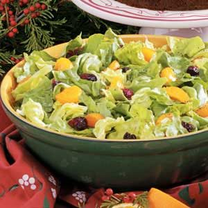 Orange-Cranberry Tossed Salad Recipe