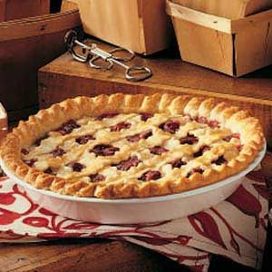 Almond Cherry Pie