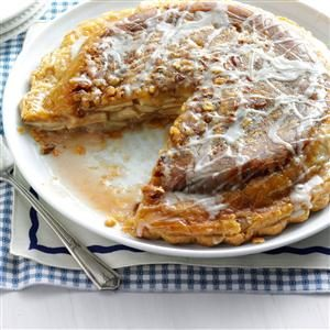 Upside-Down Apple Pie Recipe