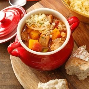 Squash 'n' Chicken Stew Recipe