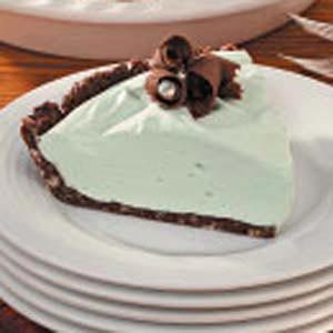 Marshmallow Grasshopper Pie Recipe