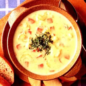 Cauliflower and Ham Chowder Recipe