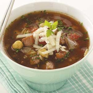Ham 'n' Chickpea Soup Recipe