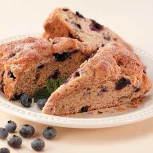 Whole Wheat Blueberry Scones Recipe