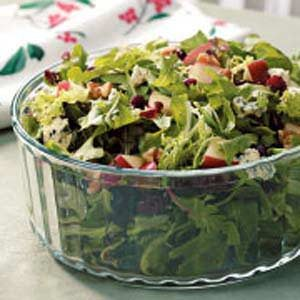 Contest-Winning Holiday Tossed Salad Recipe