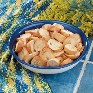 Crunchy Bagel Chips Recipe