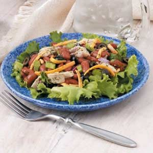 Kidney Bean Tuna Salad Recipe