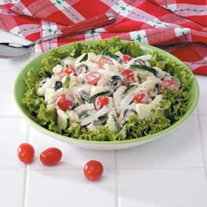 Quick Spiral Pasta Salad Recipe