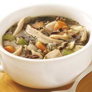 Wild Rice Chicken Soup Recipe