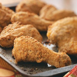Crusted Baked Chicken Recipe
