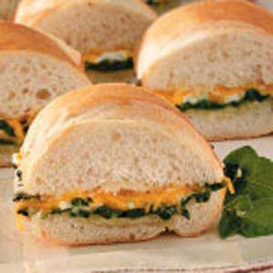 Spinach Po'boys Recipe