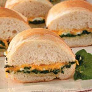 Spinach Po'boys Recipe