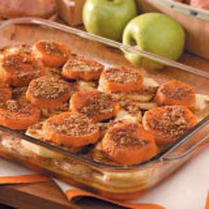 Baked Sweet Potatoes and Apples Recipe