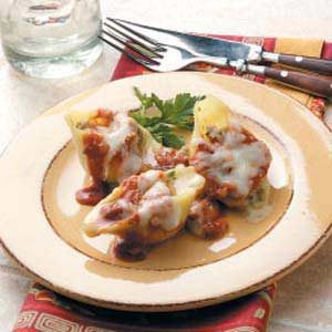 Sausage-Stuffed Shells Recipe