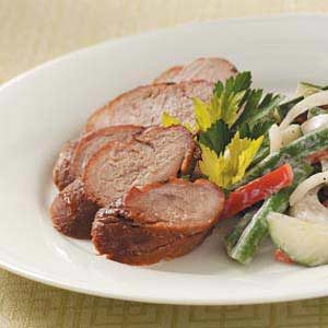 Ginger-Orange Pork Tenderloin Recipe