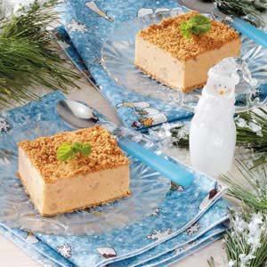 Frosty Ginger Pumpkin Squares Recipe