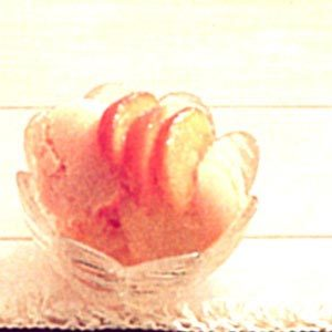 Creamy Peach Sherbet Recipe