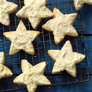 Grandma's Star Cookies Recipe