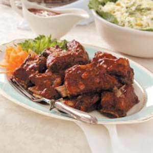 Asian Barbecued Short Ribs Recipe