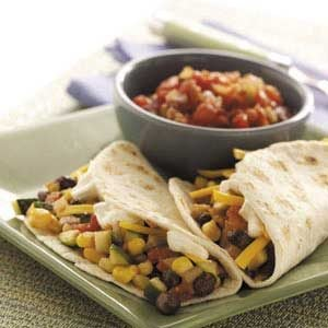 Soft Vegetable Tacos Recipe