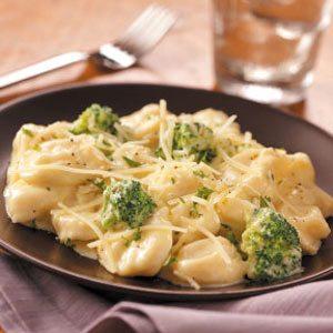 Broccoli Cheese Tortellini Recipe