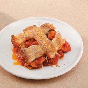 Sausage Pizza Casserole Recipe