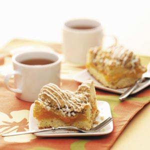 Peach Cobbler Coffee Cake Recipe