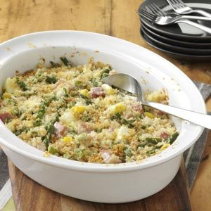 Ham and Asparagus Casserole Recipe