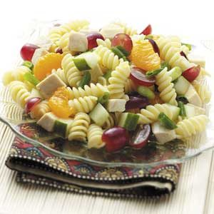 Orange Chicken Pasta Salad