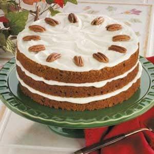 Pecan Pumpkin Torte Recipe