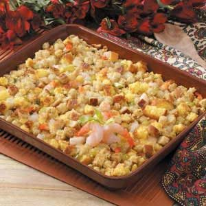 Shrimp Corn Bread Dressing Recipe