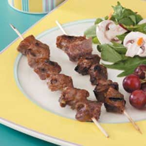 Peanutty Beef Skewers Recipe
