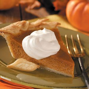 Apple Butter Pumpkin Pie Recipe