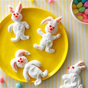 Meringue Bunnies Recipe