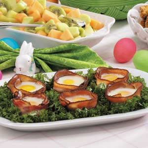 Bacon 'n' Egg Bundles Recipe