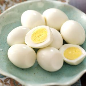Hard-Cooked Eggs Recipe