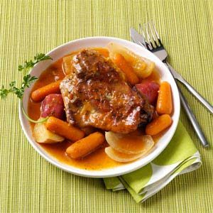 Turkey Thigh Supper Recipe