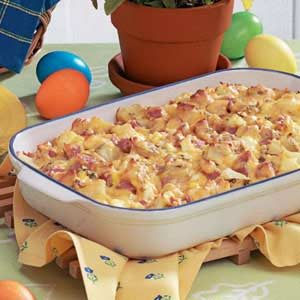 Ham 'n' Potato Casserole Recipe