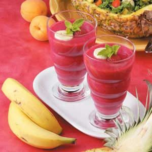 Pineapple Sunrise Smoothies Recipe