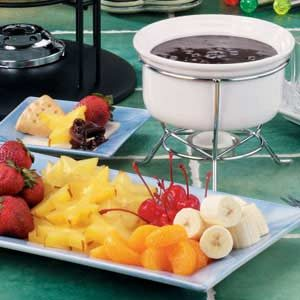 how to make cake fondue at home