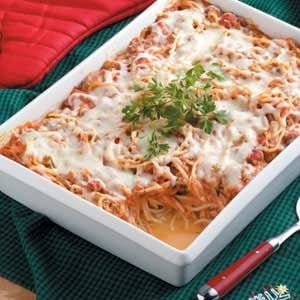 Easy spaghetti casserole recipes