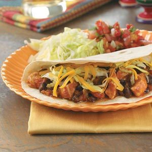 Black Bean Chicken Tacos