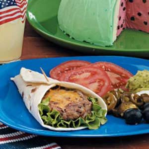 Tortilla Burgers Recipe