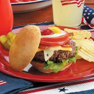 Fourth of July Burger Bar
