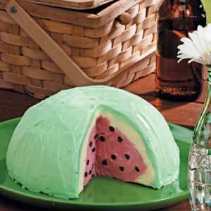 Sherbet Watermelon Recipe