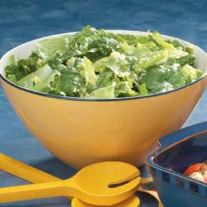 Lemon Vinaigrette on Greens Recipe