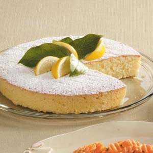 Almond-Lemon Pound Cake Recipe