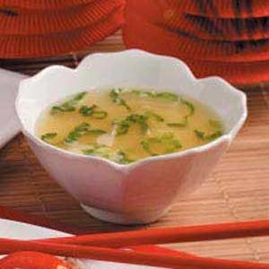 Quick Egg Drop Soup Recipe
