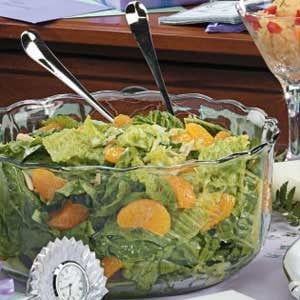 Mandarin Orange Spinach Salad Recipe